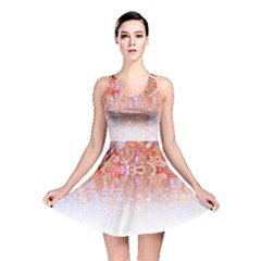 Effect Isolated Graphic Reversible Skater Dress