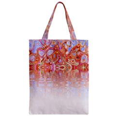 Effect Isolated Graphic Zipper Classic Tote Bag