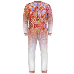 Effect Isolated Graphic Onepiece Jumpsuit (men)