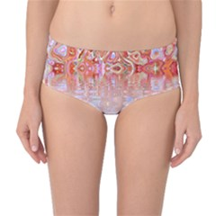 Effect Isolated Graphic Mid Waist Bikini Bottoms