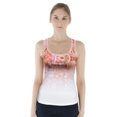 Effect Isolated Graphic Racer Back Sports Top