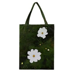 Daisies In Green Classic Tote Bag