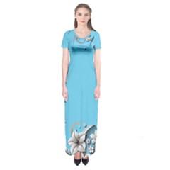 Annabellerockzflowers 1 Short Sleeve Maxi Dress