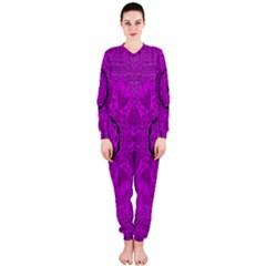 Purple Mandala Fashion OnePiece Jumpsuit (Ladies)