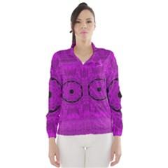 Purple Mandala Fashion Wind Breaker (Women)