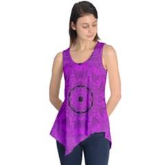 Purple Mandala Fashion Sleeveless Tunic