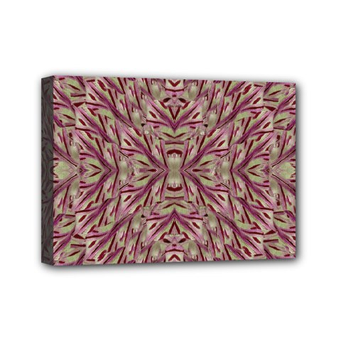 Mandala Art Paintings Collage Mini Canvas 7  x 5