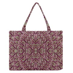 Mandala Art Paintings Collage Medium Zipper Tote Bag