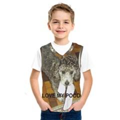 Poodle Love W Pic Silver Kids  SportsWear