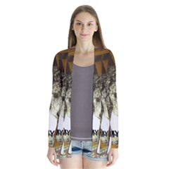 Poodle Love W Pic Silver Cardigans