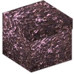 Pink Rainbow Shimmering Mother of Pearl Storage Stool 12