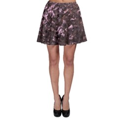 Pink Rainbow Shimmering Mother of Pearl Skater Skirt