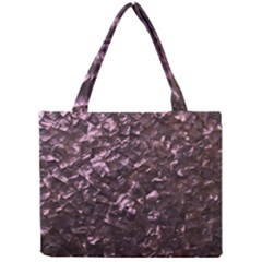 Pink Rainbow Shimmering Mother of Pearl Mini Tote Bag