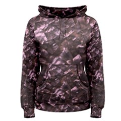 Pink Rainbow Shimmering Mother of Pearl Women s Pullover Hoodie