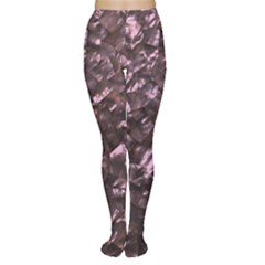 Pink Rainbow Shimmering Mother of Pearl Women s Tights