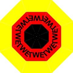 Rottweiler Name On Flag Straight Umbrellas