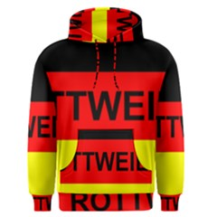 Rottweiler Name On Flag Men s Pullover Hoodie