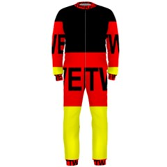Rottweiler Name On Flag OnePiece Jumpsuit (Men)