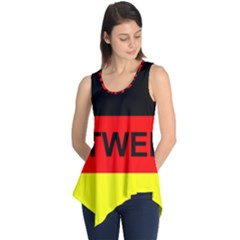 Rottweiler Name On Flag Sleeveless Tunic