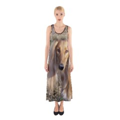Saluki Sleeveless Maxi Dress