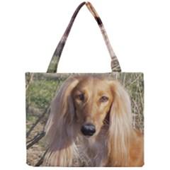 Saluki Mini Tote Bag