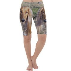 Saluki Cropped Leggings