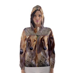 Saluki Hooded Wind Breaker (Women)