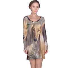Saluki Long Sleeve Nightdress