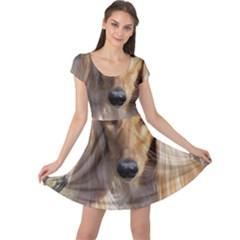 Saluki Cap Sleeve Dresses