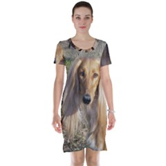 Saluki Short Sleeve Nightdress