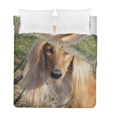 Saluki Duvet Cover Double Side (Full/ Double Size)