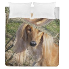 Saluki Duvet Cover Double Side (Queen Size)