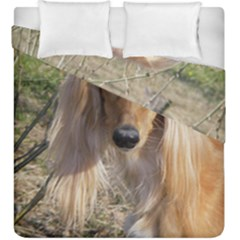 Saluki Duvet Cover Double Side (King Size)