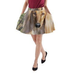 Saluki A-Line Pocket Skirt