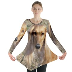 Saluki Long Sleeve Tunic
