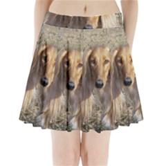 Saluki Pleated Mini Skirt
