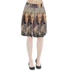 Saluki Pleated Skirt