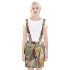 Saluki Braces Suspender Skirt