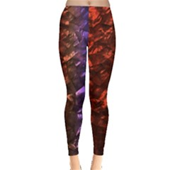 Multi Color Magical Unicorn Rainbow Shimmering Mother of Pearl Leggings