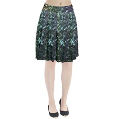 Natural Shimmering Mother of Pearl Nacre  Pleated Skirt