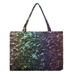 Natural Shimmering Mother of Pearl Nacre  Medium Tote Bag