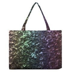 Natural Shimmering Mother of Pearl Nacre  Medium Zipper Tote Bag