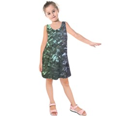 Natural Shimmering Mother of Pearl Nacre  Kids  Sleeveless Dress