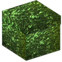 Bright Jade Green Jewelry Mother of Pearl Storage Stool 12