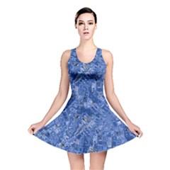 Melting Swirl C Reversible Skater Dress