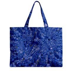 Melting Swirl C Zipper Mini Tote Bag