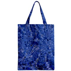 Melting Swirl C Zipper Classic Tote Bag