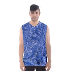 Melting Swirl C Men s Basketball Tank Top