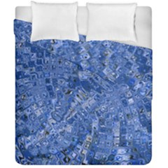 Melting Swirl C Duvet Cover Double Side (California King Size)