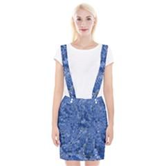 Melting Swirl C Braces Suspender Skirt